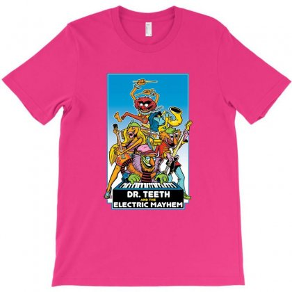 Dr Teeth Merch T-shirt Designed By Coolmarcell
