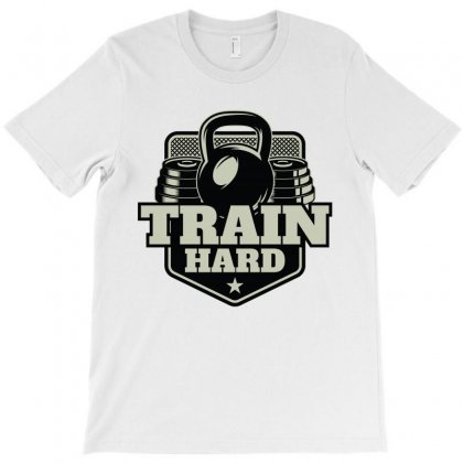 Train Hard T-shirt Designed By Noir Est Conception