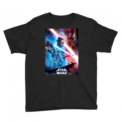 Poster Star Wars The Rise Of Skywalkers Youth Tee Designed By Nugrahadamanik