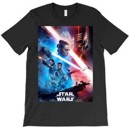 Poster Star Wars The Rise Of Skywalkers T-shirt Designed By Nugrahadamanik