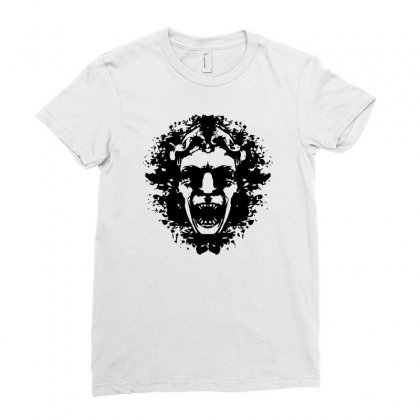 Inkblot Blink Ladies Fitted T-shirt Designed By Banyuart
