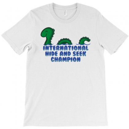 International Hide And Seek Champ T-shirt Designed By Banyuart
