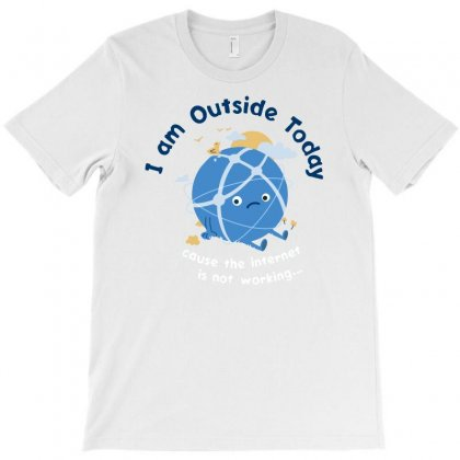 Internet Is Out T-shirt Designed By Banyuart