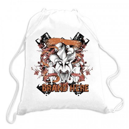 Brand Here Drawstring Bags Designed By Estore