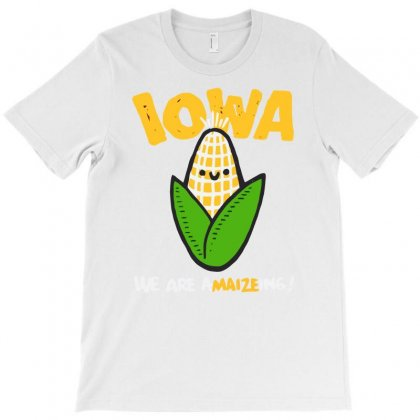 Iowa, We Are A Maize Ing T-shirt Designed By Banyuart