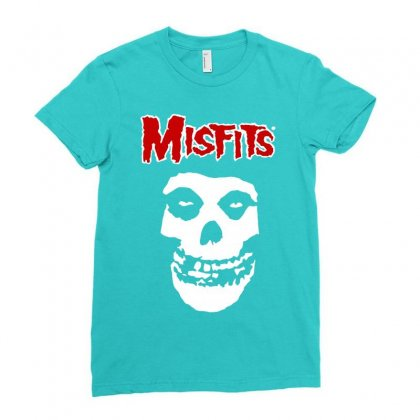 Misfits Ladies Fitted T-shirt Designed By Artwoman