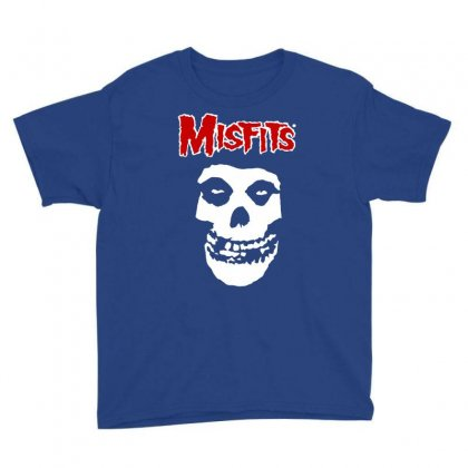 Misfits Youth Tee Designed By Artwoman