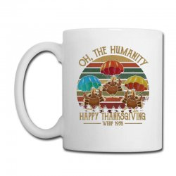 Oh The Humsnity Happy Thanksgiving Wkrp 1978 Coffee Mug Designed By Kakashop