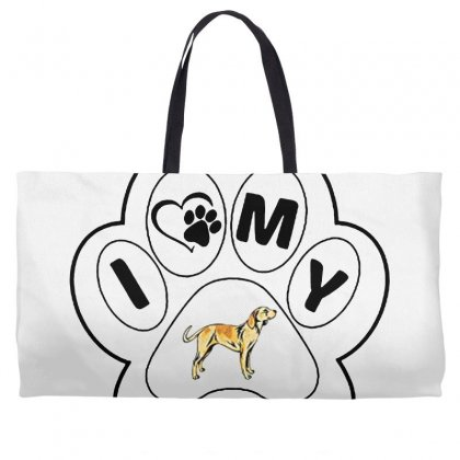 Billy And Shiba Weekender Totes Designed By Oktaviany