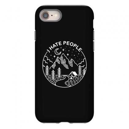 Hate People Merch Iphone 8 Case Designed By Oktaviany