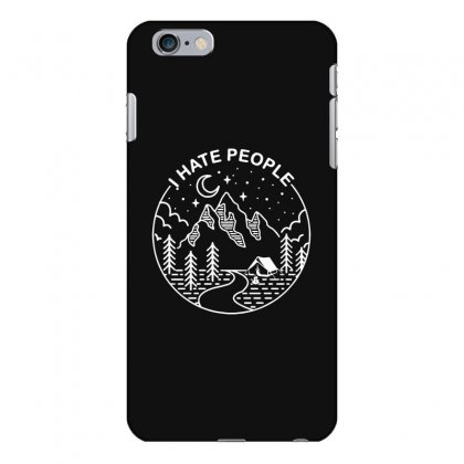 Hate People Merch Iphone 6 Plus/6s Plus Case Designed By Oktaviany