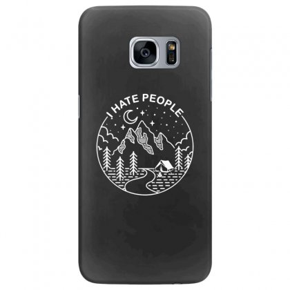 Hate People Merch Samsung Galaxy S7 Edge Case Designed By Oktaviany