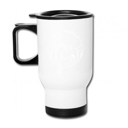 Hate People Merch Travel Mug Designed By Oktaviany