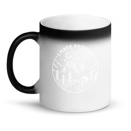 Hate People Merch Magic Mug Designed By Oktaviany