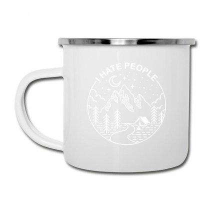 Hate People Merch Camper Cup Designed By Oktaviany