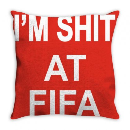 Im Shitfifa Merch Throw Pillow Designed By Oktaviany