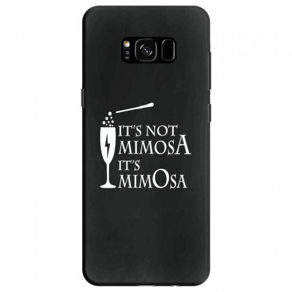 It's Mimosa Not Mimosa Samsung Galaxy S8 Case Designed By Oktaviany