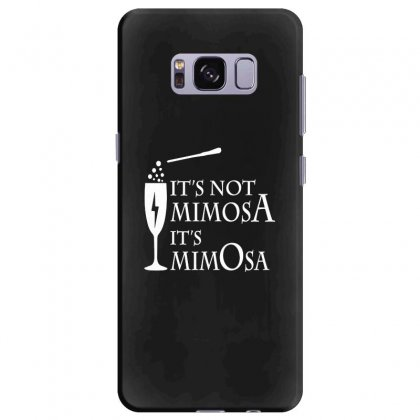 It's Mimosa Not Mimosa Samsung Galaxy S8 Plus Case Designed By Oktaviany