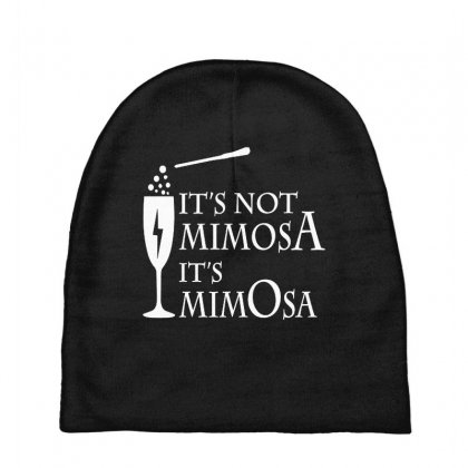 It's Mimosa Not Mimosa Baby Beanies Designed By Oktaviany