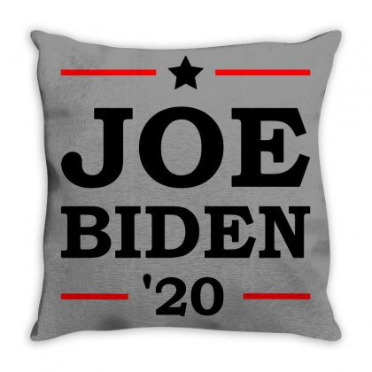 Joe Biden 2020 Campaign Throw Pillow Designed By Oktaviany