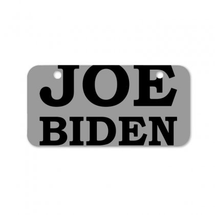 Joe Biden 2020 Campaign Bicycle License Plate Designed By Oktaviany