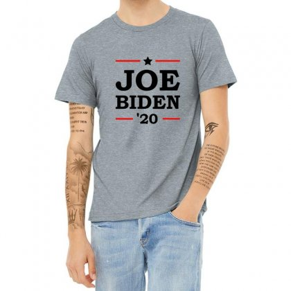 Joe Biden 2020 Campaign Heather T-shirt Designed By Oktaviany