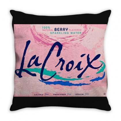 Drink Merch Throw Pillow Designed By Oktaviany