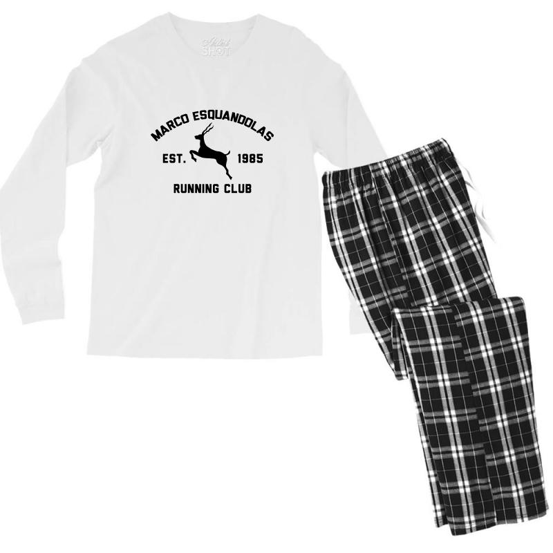 Marco Esquandolas Men's Long Sleeve Pajama Set | Artistshot