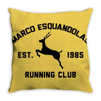 Marco Esquandolas Throw Pillow Designed By Oktaviany