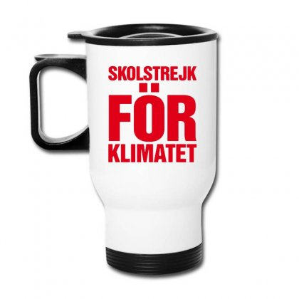 Skolstrejk For Klimatet Travel Mug Designed By Oktaviany
