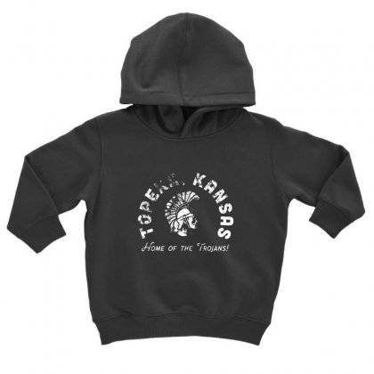 Topeka High School Merch Toddler Hoodie Designed By Oktaviany