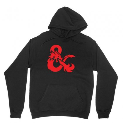 Dungeons & Dragons   Dungeons & Amp Unisex Hoodie Designed By Oktaviany