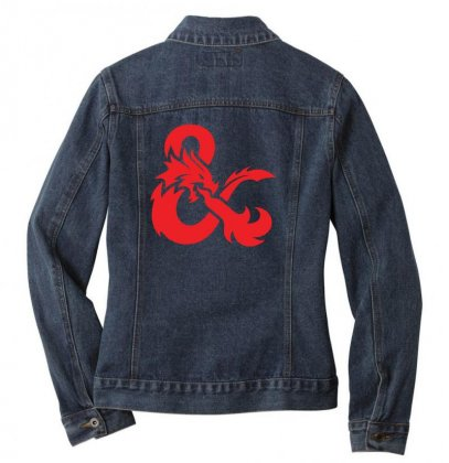 Dungeons & Dragons   Dungeons & Amp Ladies Denim Jacket Designed By Oktaviany