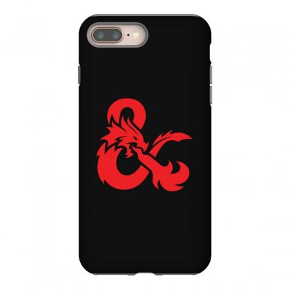 Dungeons & Dragons   Dungeons & Amp Iphone 8 Plus Case Designed By Oktaviany