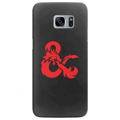 Dungeons & Dragons   Dungeons & Amp Samsung Galaxy S7 Edge Case Designed By Oktaviany