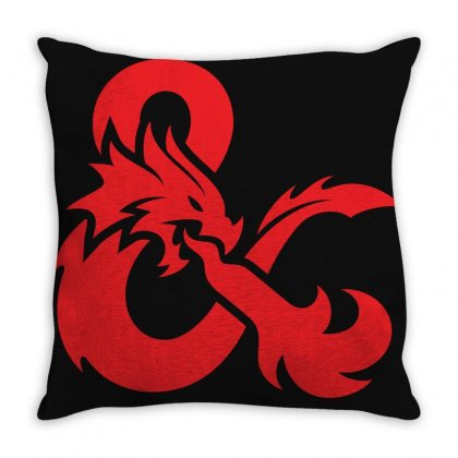 Dungeons & Dragons   Dungeons & Amp Throw Pillow Designed By Oktaviany