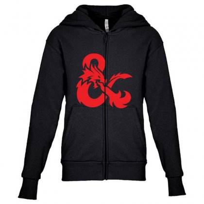 Dungeons & Dragons   Dungeons & Amp Youth Zipper Hoodie Designed By Oktaviany