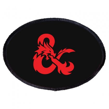 Dungeons & Dragons   Dungeons & Amp Oval Patch Designed By Oktaviany