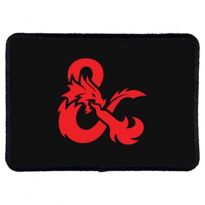 Dungeons & Dragons   Dungeons & Amp Rectangle Patch Designed By Oktaviany