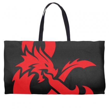 Dungeons & Dragons   Dungeons & Amp Weekender Totes Designed By Oktaviany