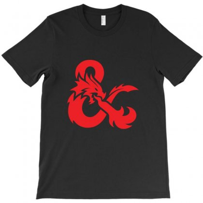 Dungeons & Dragons   Dungeons & Amp T-shirt Designed By Oktaviany