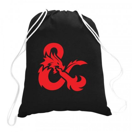 Dungeons & Dragons   Dungeons & Amp Drawstring Bags Designed By Oktaviany