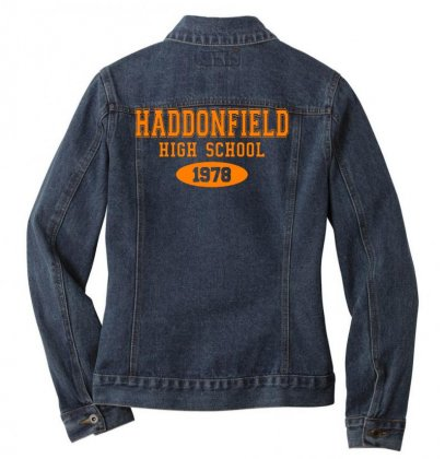 Haddonfield High Class Of 1978 Ladies Denim Jacket Designed By Oktaviany