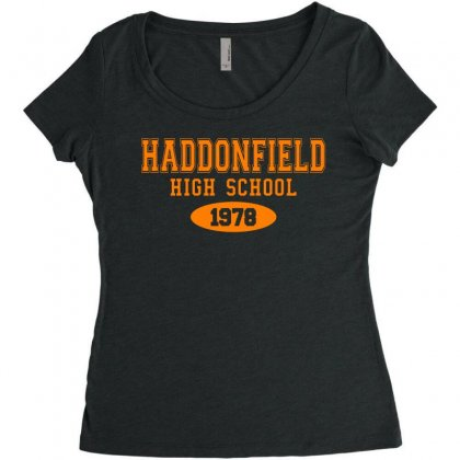 Haddonfield High Class Of 1978 Women's Triblend Scoop T-shirt Designed By Oktaviany