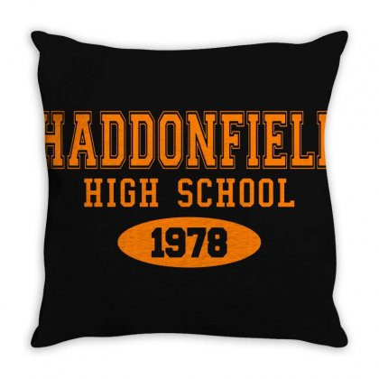 Haddonfield High Class Of 1978 Throw Pillow Designed By Oktaviany