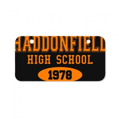Haddonfield High Class Of 1978 Bicycle License Plate Designed By Oktaviany