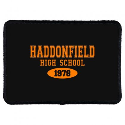 Haddonfield High Class Of 1978 Rectangle Patch Designed By Oktaviany