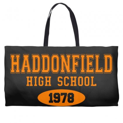 Haddonfield High Class Of 1978 Weekender Totes Designed By Oktaviany