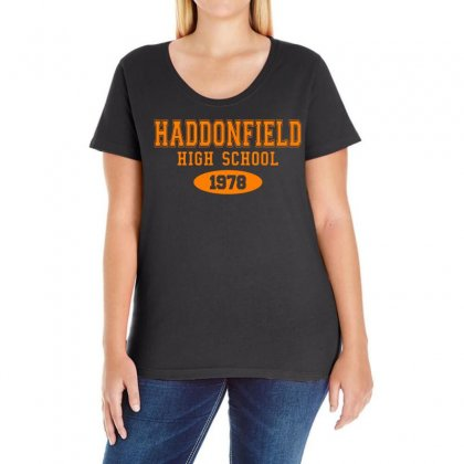 Haddonfield High Class Of 1978 Ladies Curvy T-shirt Designed By Oktaviany