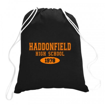 Haddonfield High Class Of 1978 Drawstring Bags Designed By Oktaviany
